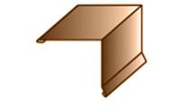 Планка торцевая (ветровая) 100х100х2000