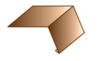Планка карнизная (капельник) 140х100х2000