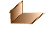Планка примыкания верхняя 250х150х2000